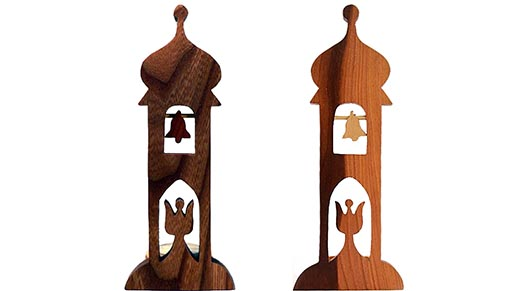 drevene dekorace-zvonicka